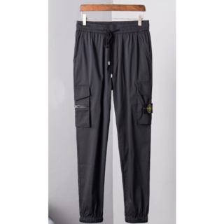 ストーンアイランド STONE ISLAN メンズ パンツ ブラック サイズ M(チノパン)