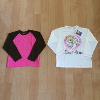新品!女の子☆Tシャツ2点セット!