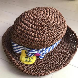 プチジャム 麦わら帽子 50cm