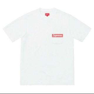 シュプリーム(Supreme)のMサイズ シュプリーム メッシュ ストライプ ポケット Tシャツ(Tシャツ/カットソー(半袖/袖なし))