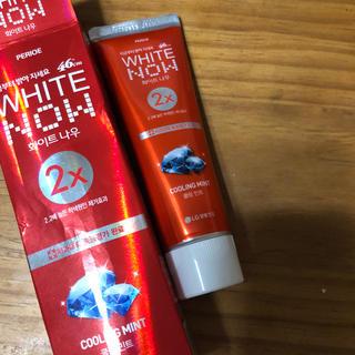 ホワイトナウ 歯磨き粉 ホワイトニング