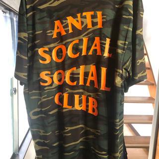 アンチ(ANTI)のアンチソーシャル Tシャツ Lサイズ(Tシャツ/カットソー(半袖/袖なし))