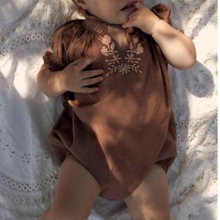 キャラメルベビー&チャイルド(Caramel baby&child )のapolina アポリナ ROMPER - LOAF(ロンパース)
