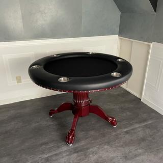 一台のみセール!ポーカーテーブル  ROUNDERラウンダー  ポーカー (トランプ/UNO)