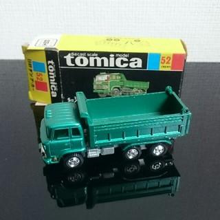 トミー(TOMMY)のトミカ 黒箱 日野ダンプカー(ミニカー)