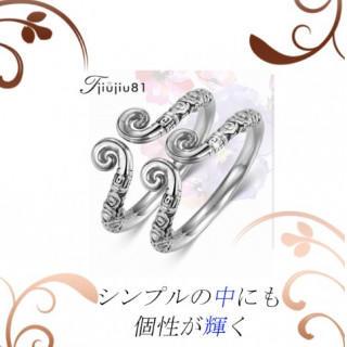 送料無料 シルバー リング ペア プレゼント 指輪 セット 記念 カップルg(リング(指輪))