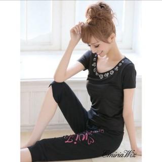 エミリアウィズ(EmiriaWiz)のEmiriaWiz ヨガウェア Tシャツ(ヨガ)