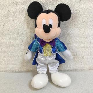 ディズニー(Disney)のミッキー ぬいぐるみバッチ(キャラクターグッズ)