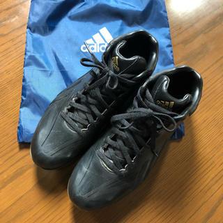 アディダス(adidas)のadidas 野球スパイク 黒 25.5㎝(シューズ)