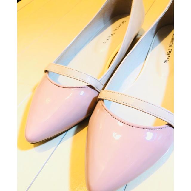 ORiental TRaffic(オリエンタルトラフィック)のポインテッドトゥー エナメル パンプス♡オリエンタルトラフィック レディースの靴/シューズ(ハイヒール/パンプス)の商品写真