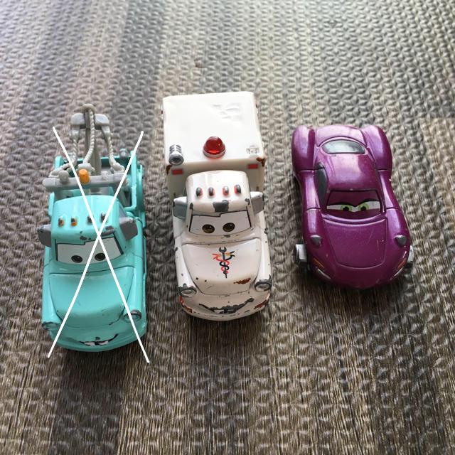 Takara Tomy(タカラトミー)のカーズトミカ エンタメ/ホビーのおもちゃ/ぬいぐるみ(ミニカー)の商品写真