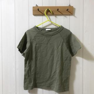 ジーユー(GU)のGU♡カーキTシャツ♡110cm(Tシャツ/カットソー)