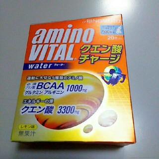 アジノモト(味の素)のアミノバイタル クエン酸チャージウォーター20本入(トレーニング用品)