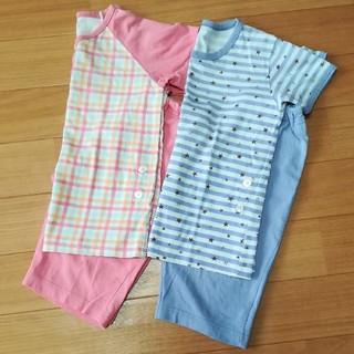 ユニクロ(UNIQLO)のユニクロ パジャマ 半袖 100(パジャマ)