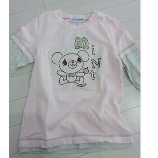 f435b87b1fb19 ポンポネット(pom ponette)のポンポネット 140cm 長袖Tシャツ(Tシャツ カットソー