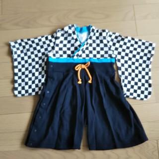 袴ロンパース 80㎝(和服/着物)