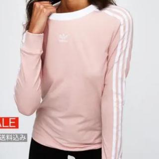アディダス(adidas)のLS Tシャツ ロンt adidas blackpink(Tシャツ(長袖/七分))