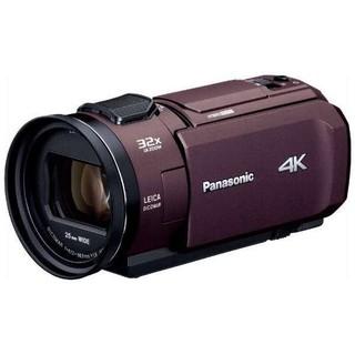 Panasonic - 【新品未使用】パナソニック 4Kビデオカメラ HC-VXM カラー ブラウン