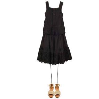 ボンポワン(Bonpoint)のご専用です。♡ 新品未使用♡bonpoint♡レース♡スカート♡ブラウス♡2点♡(ブラウス)