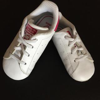 アディダス(adidas)のadidas Stan Smith ピンク 12cm(スニーカー)