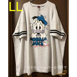 Disney - ドナルドダック オーバーサイズ tシャツ LL