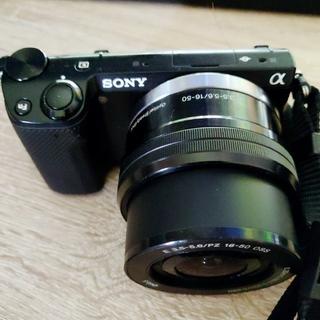 SONY - sony α NEX-5R 一眼レフカメラ ミラーレス