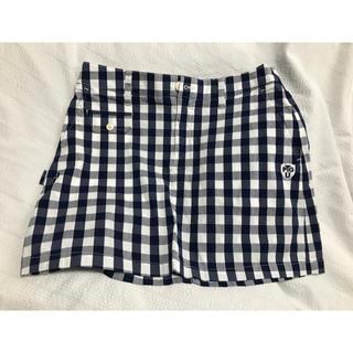 パーリーゲイツ(PEARLY GATES)のパーリーゲイツ   ギンガムチェック スカート サイズ1(ウエア)