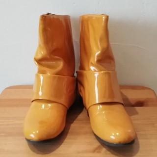 未使用 長靴 レインブーツ レディース ショートブーツ(レインブーツ/長靴)