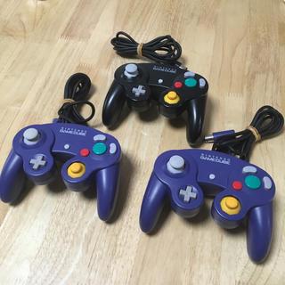 ニンテンドーゲームキューブ(ニンテンドーゲームキューブ)のゲームキューブ コントローラー 3個(その他)