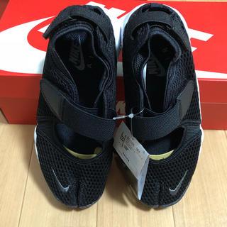 ナイキ(NIKE)のNIKE ナイキ エアリフト ブリーズ 黒 24cm 新品 AIR RIFT(サンダル)