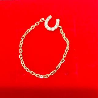 ココシュニック(COCOSHNIK)の最終価格 ココシュニック チェーンリング ホースシュー(リング(指輪))