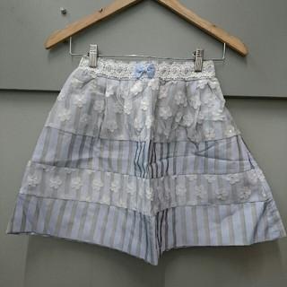 リズリサ(LIZ LISA)のLIZ LISA☆ストライプ×花スカート(ミニスカート)