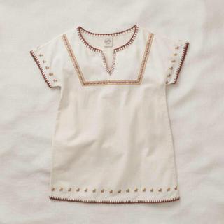 キャラメルベビー&チャイルド(Caramel baby&child )のAPOLINA  ROSE dress (Milk)  S  2-3y(ワンピース)