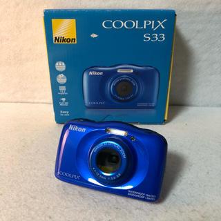 Nikon - 【付属品完備】Nikon クールピクス デジタルカメラ S33