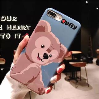 ディズニー(Disney)のディズニー ダッフィー iPhone7/8/X(iPhoneケース)