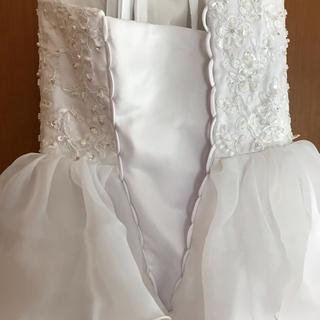 ミニ丈 ウエディングドレス用写真1(ウェディングドレス)