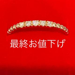 ココシュニック(COCOSHNIK)の最終価格 ココシュニック ダイヤリング(リング(指輪))