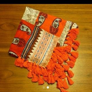 ザラ(ZARA)のスカーフ  ストール  コットン  ストール  正方形 (バンダナ/スカーフ)