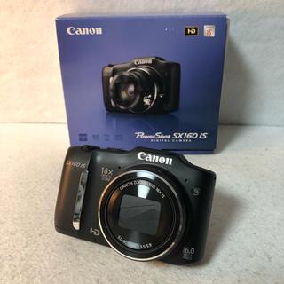 Canon - 【付属品完備】Canon デジタルカメラ PowerShot SX160IS