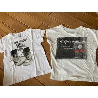 ZARA - プリントTシャツ 2枚