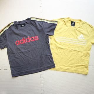 アディダス(adidas)のアディダス110cm半袖Tシャツ二枚(Tシャツ/カットソー)