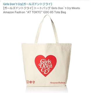 GDC - girls don't cry×Amazon トートバッグ