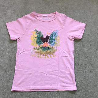 ジーユー(GU)のくまのがっこう  Tシャツ 150cm(Tシャツ/カットソー)