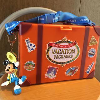ディズニー(Disney)のバケーションパッケージ限定 トランク型ポップコーンバケツ(ノベルティグッズ)