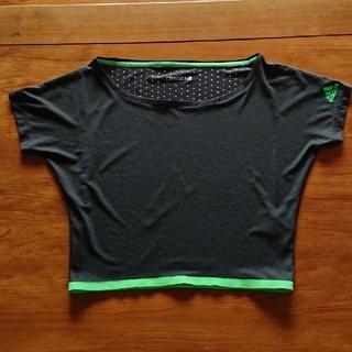 アディダス(adidas)のadidas アディダス フィットネスウェア Tシャツ トップス ダンス系 (トレーニング用品)