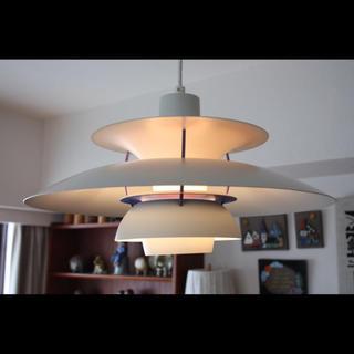 フェニカ(fennica)のark様専用  ルイスポールセン PH5 クラシック ホワイト北欧照明 (天井照明)