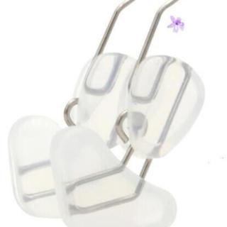 新品 未使用品 ノーズクリップ 美鼻でナイト 鼻プチ 美鼻矯正 鼻を高く クリア(フェイスローラー/小物)