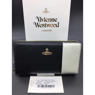 a9a3665ad837 ヴィヴィアンウエストウッド(Vivienne Westwood)のVivienneWestwood ヴィヴィアン 財布 ブラック ホワイト 黒 白(