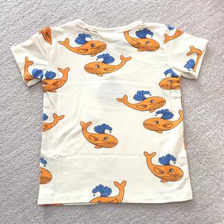 こども ビームス - くじら柄Tシャツ