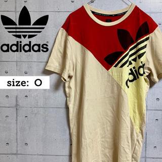 アディダス(adidas)のadidas ビッグロゴ  トレフォイル 半袖 Tシャツ Oサイズ マルチカラー(Tシャツ/カットソー(半袖/袖なし))